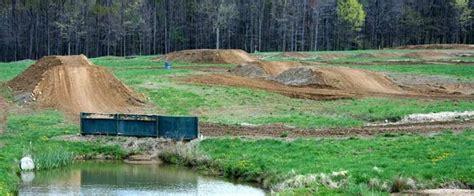 Dirt Bike Track In Back Yard