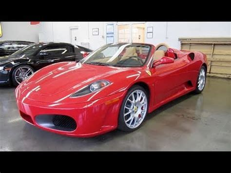 The f430 model is a car manufactured by ferrari, sold new from year 2005 until 2009, and available after that as a used car. 2008 Ferrari F430 Spider 6-spd Start Up, Exhaust, and In Depth Tour/Review - YouTube
