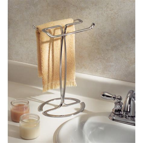 standing towel rack ideas   bathroom