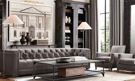 Restoration Hardware Style Sofa Interior Style Aviation