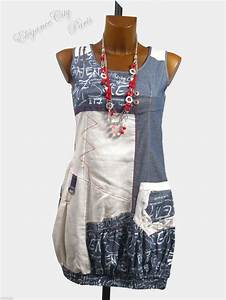 c fait pour vousrobe tunique cintree quotboulequot design bleu With robe cintree