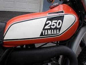 1975 Yamaha Dt250b Enduro