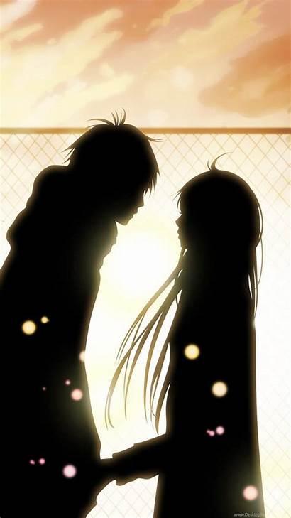 Anime Romantic Wallpapers Romance Desktop Couple Background