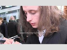 Rory Culkin Signing Autographs at the 2014 Tribeca Film