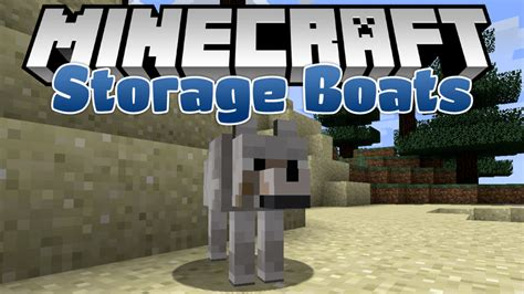 Boat Mod Minecraft 1 11 2 by Storage Boats Mod 1 12 2 1 11 2 For Minecraft Mc Mod Net
