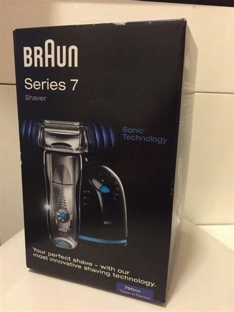 Braun Series 7 790cc 4 Shaver braun series 7 790cc 4 mens shaver with cleaning