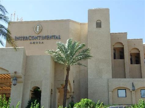 Outside view of the hotel. - Picture of InterContinental ...
