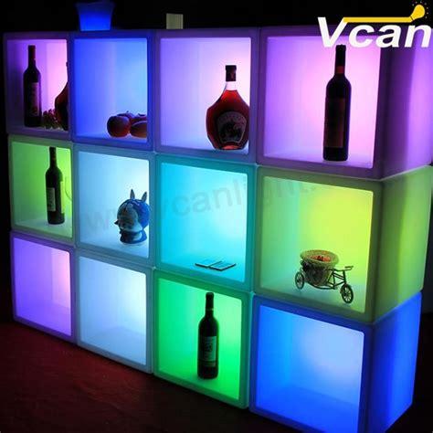 glowing storage containerled ice bucketlight  cube