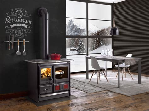la nordica rosa wood burning cook stove la nordica quot rosa l quot