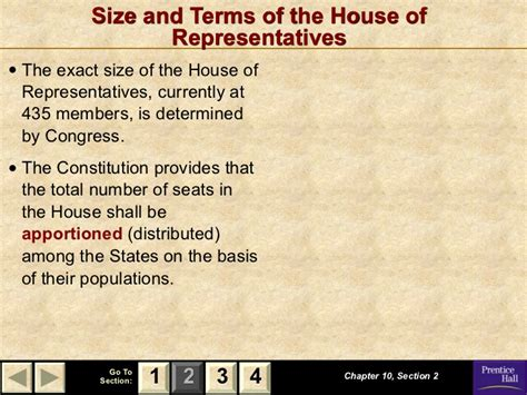 chapter 10 section 2 the house of representatives congress intro