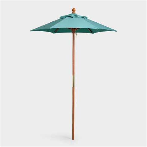teal 5 ft umbrella canopy world market