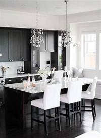 black and white kitchen Black and White Kitchen Ideas