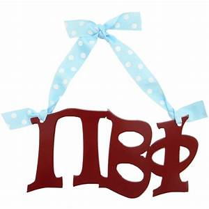 pi beta phi sorority letters metal sign 8 With pi beta phi letters