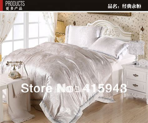 5 colour beautiful bedding silver quilt cover brown