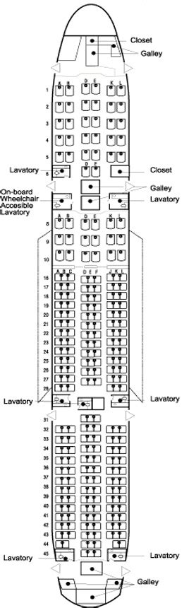 plan si鑒es boeing 777 300er 20 best ideas about boeing 777 300 seating on
