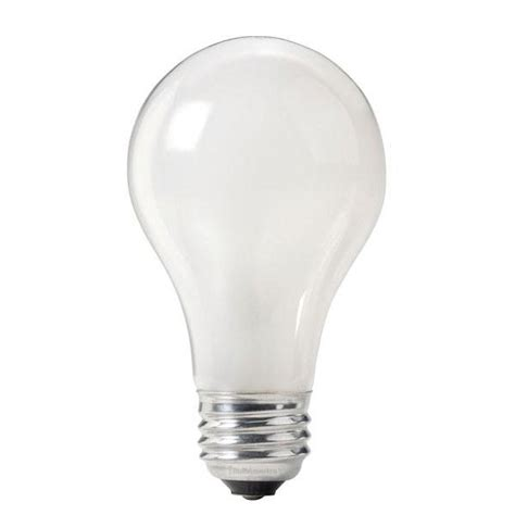 philips 75w 120v a19 frosted e26 incandescent light bulb