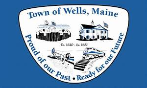 File Flag Of Town Of Wells  Maine Gif