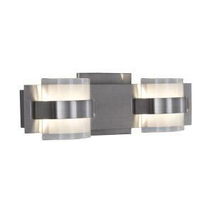 alternating current restraint 2 light polished chrome led