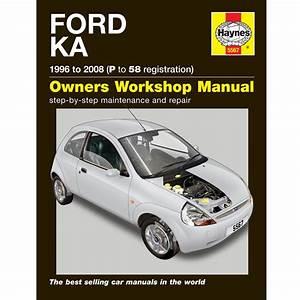 New Haynes Manual Ford Ka 1996