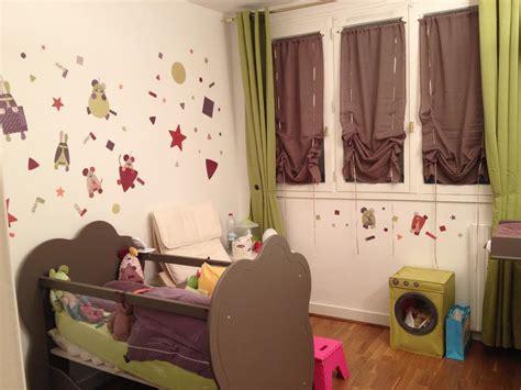 stickers chambre bébé mixte couleur chambre bebe mixte