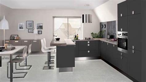 photo de cuisine ouverte sur sejour modele cuisine ouverte sur salon comptoir