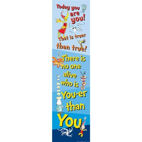 dr seuss motivational vertical banner eureka school