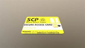 Free Downloadable Scp Key Card Multi Texture Download Free 3d Model By