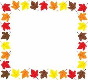 Fall Leaves Border Clipart | Clipart Panda - Free Clipart ...