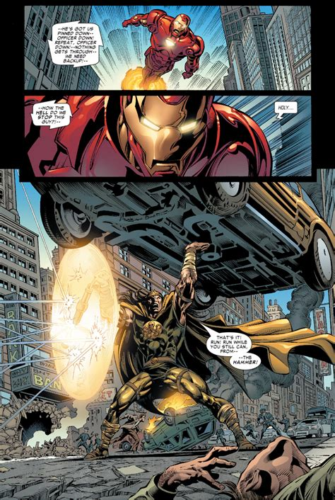 Iron Man Vs The Hammer Comicnewbies