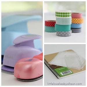 Little Lovelies Tutorial Washi Tape Stickers