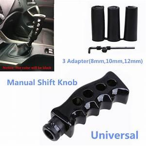 Car Gear Shift Knob Shifter Black Gun Grip Knife For