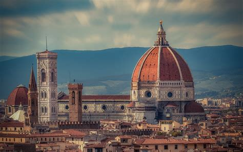florence cathedral italy hd wallpaper