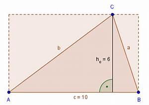Fläche Dreieck Berechnen Formel : fl chenberechnung dreieck ~ Themetempest.com Abrechnung