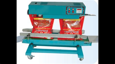 small polyester pouch bag big ld hm bag kg kg kg kg bag sealing machine youtube