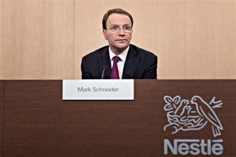 Nestle Braces For Slowdown As New Ceo Mark Schneider