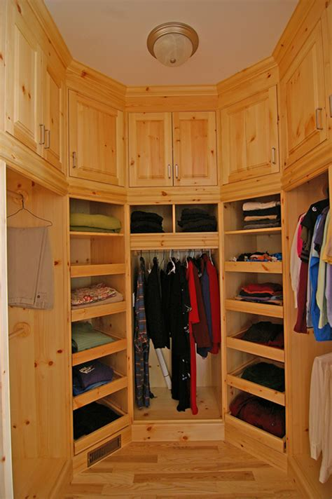 built in custom kitchen library walk in closet