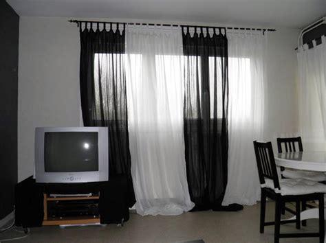 rideau noir et blanc pas cher rideaux noir et blanc atlub