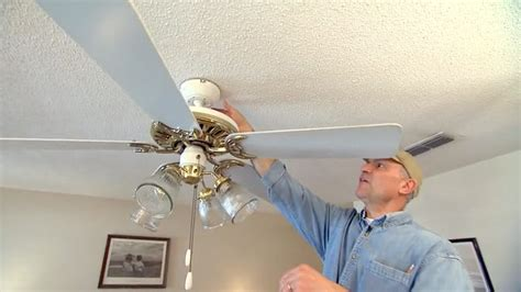 how to repair ceiling fan how to fix an out of balance paddle ceiling fan today 39 s