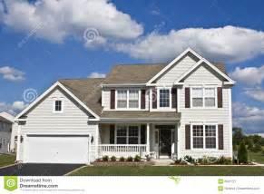 suburban house royalty  stock photography image