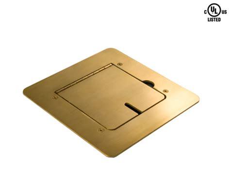 Fsr Floor Box Inserts by Mystery Fmca1300 Brass Flat Trim Floor Box With Blank Insert