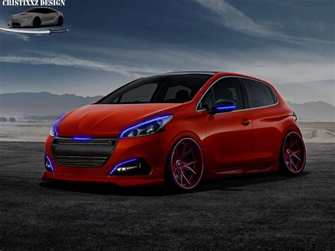 peugeot 208 gti tuning peugeot 208 2016 tuning by cristixxz on deviantart