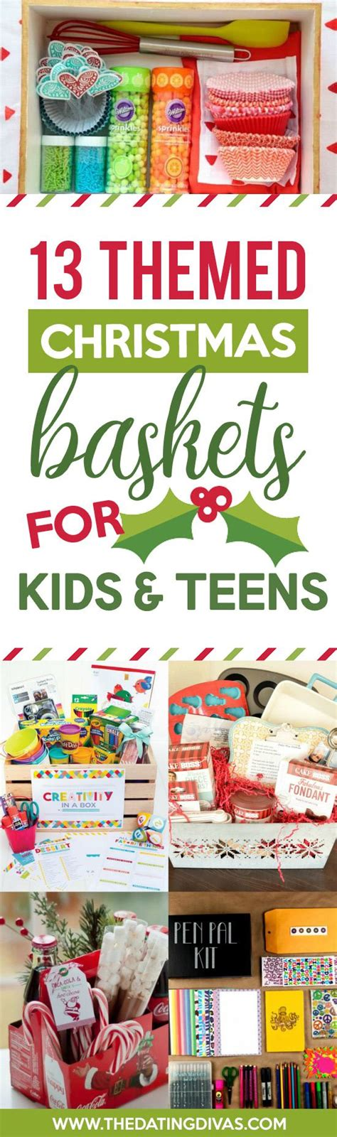50 themed christmas basket ideas christmas gifts teen