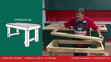 build  workbench diy  bunnings youtube