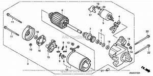Honda Engines Gx670u Vab2 Engine  Jpn  Vin  Gcask