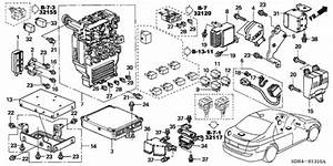 Oem 2005 Honda Accord Hybrid Sedan Control Unit  Cabin   1  Parts