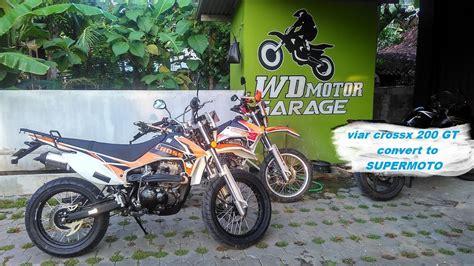 Gambar Motor Viar Cross X 200 Gt by 81 Modifikasi Motor Viar Cross X Terunik Kucur Motor
