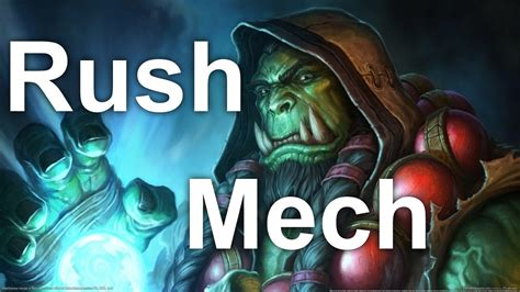 [hearthstone] Budget Rush Mech Shaman Deck Youtube