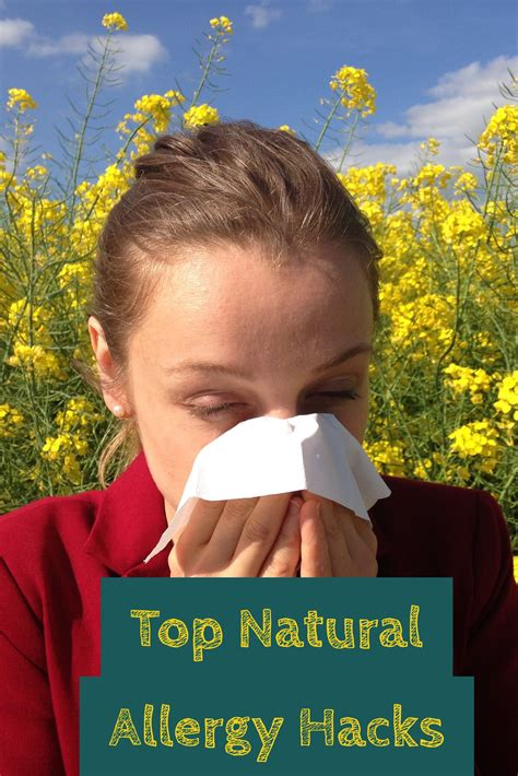 Top Natural Allergy Hacks New And Natural Mom
