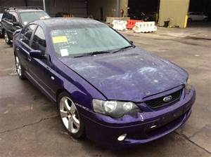 Wrecking 2003 Ford Ba Falcon Xr8 Sedan With 5 4l Boss 260 V8  U2013 Ford Pro Wreckers