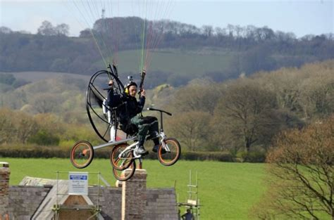 From Flying Bikes To Pedaling